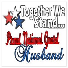 National Guard Husband Poster