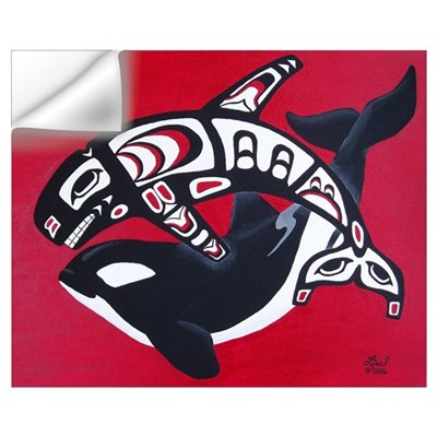 Spirit of the Orca Wall Decal