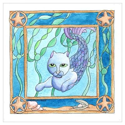 Ocean's Forest - Mercat Poster