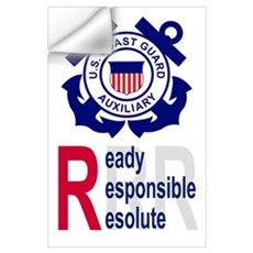 Coast Guard Auxiliary<BR> Wall Decal