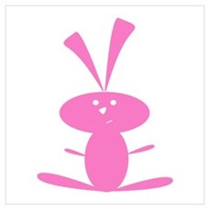 PINK BUNNY Poster