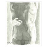 Lesbian nude Wrapped Canvas Art