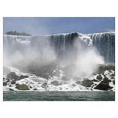 American Waterfall Poster