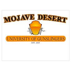 University of Gunslingers Poster