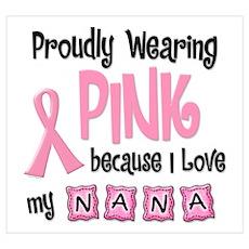 Proudly Wearing Pink 2 (Nana) Poster