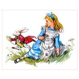 Alice wonderland Framed Prints
