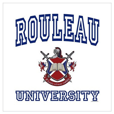 ROULEAU University Poster
