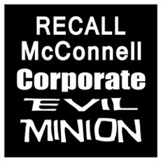 Recall Mitch McConnell Poster