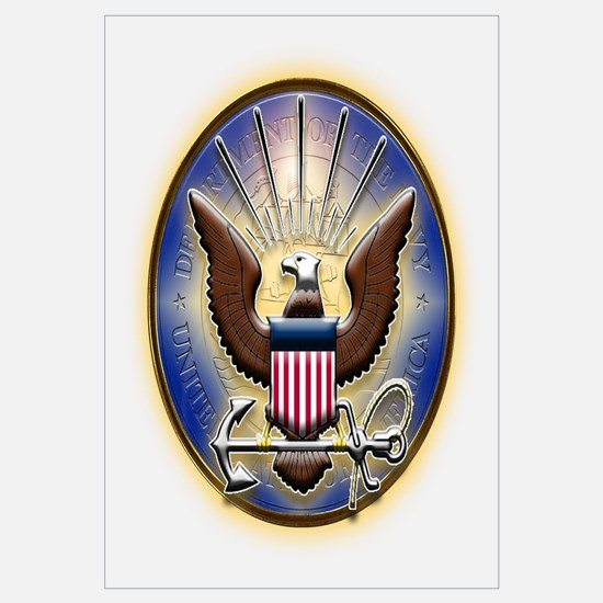 US Navy Eagle With Seal