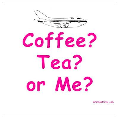 Coffee, Tea or Me? Poster