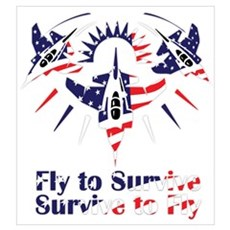 Fly to survive Poster