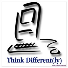 """Think Different(ly)"" Poster"