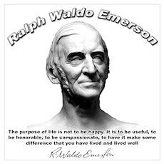 Ralph Waldo Emerson 01 Poster