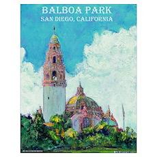 Balboa Park Poster