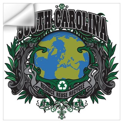 South Carolina Green Pride Wall Decal