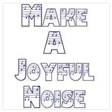 joyful noise Canvas Art