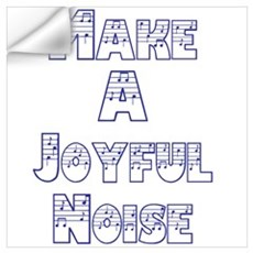 joyful noise Wall Decal