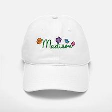 Madison Flowers Baseball Baseball Cap