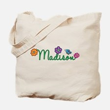 Madison Flowers Tote Bag