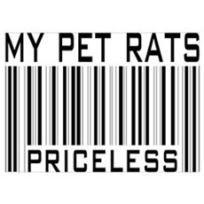 My Pet Rats Priceless Poster