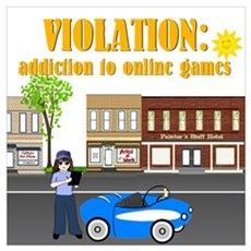 Addiction to Online Games Poster