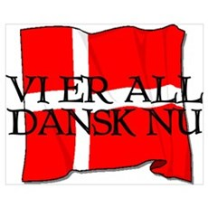 We Are All Danes Now! Canvas Art