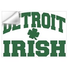 Detroit Irish Wall Decal