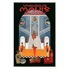 Antique Mavis Perfume Poster