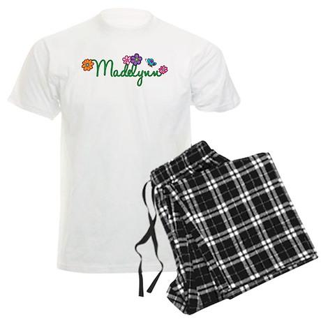 Madelynn Flowers Men's Light Pajamas