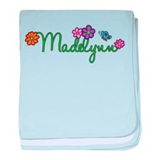 Madelynn Flowers baby blanket