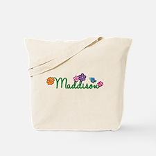 Maddison Flowers Tote Bag