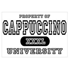 Cappuccino University Framed Print