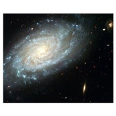 Spiral Galaxy Canvas Art