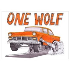 ONE WOLF Poster