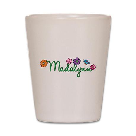 Madalynn Flowers Shot Glass