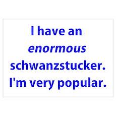 Schwanzstucker Poster