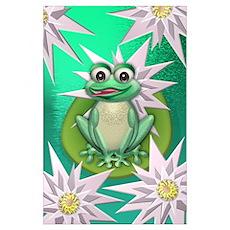 Wonder frog Poster