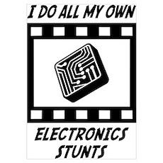 Electronics Stunts Poster