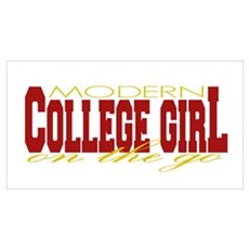 College Girl Poster