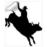 Bull riding Wall Decals