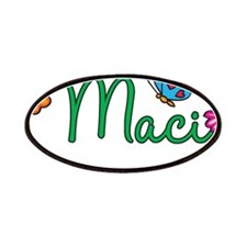Maci Flowers Patches