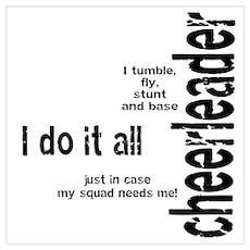 "Cheerleader ""I Do It All"" Poster"
