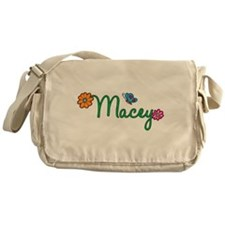 Macey Flowers Messenger Bag