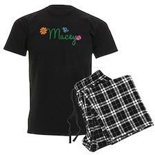 Macey Flowers pajamas