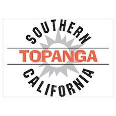 Topanga California Poster