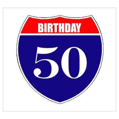 50th Birthday! Poster