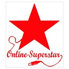 Online superstar Canvas Art