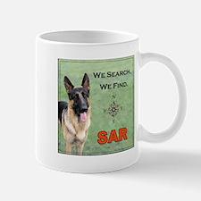Search and Rescue German Shepherd Mug