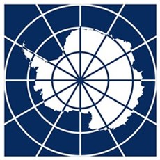 Antarctic Treaty Emblem Wall Art Poster