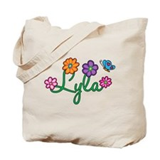 Lyla Flowers Tote Bag